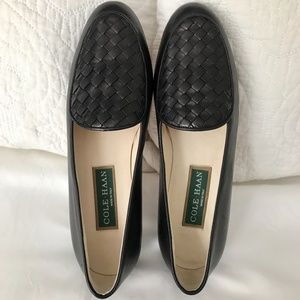 COLE HAAN Top Woven Italian Leather Loafers-Sz 6B